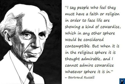 God Quote By Bertrand Russel